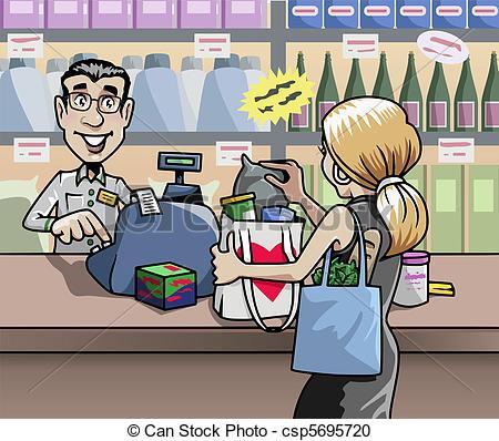 Salesperson Stock Illustration Images. 930 Salesperson.