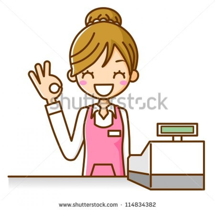 stock images similar to id 114834388 woman salesperson with.