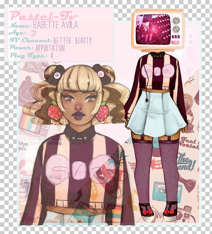 Fashion illustration Cartoon Poster Pink M, saleswoman PNG.