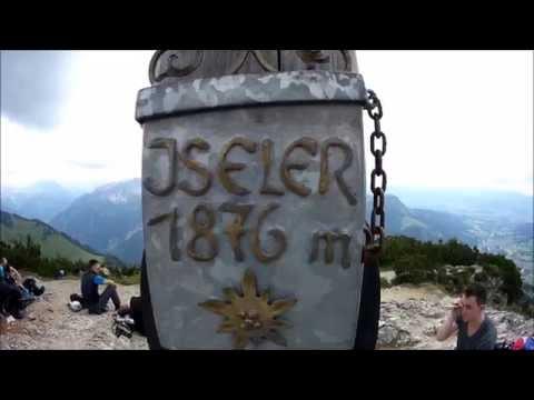 Salewa Klettersteig am Iseler, Oberjoch.
