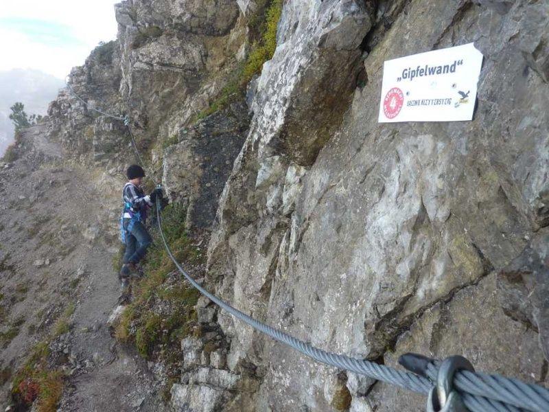 Salewa Klettersteig.