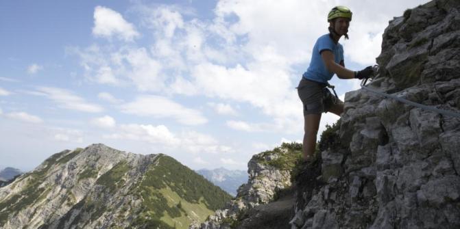 Salewa Klettersteig • Klettersteig » outdooractive.com.