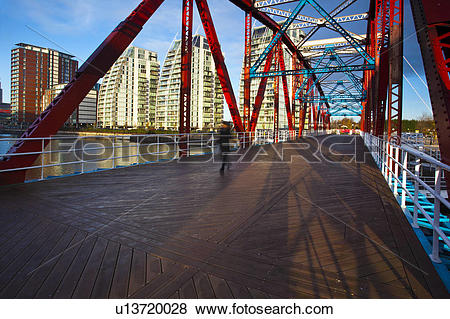 Pictures of England, Greater Manchester, Salford Quays. NV.