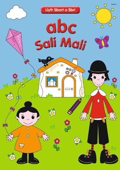 LLYFR LLIWIO SALI MALI / SALI MALI'S COLOURING BOOK.