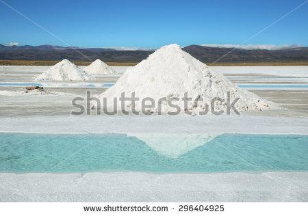 Salt Pile Stock Photos, Royalty.