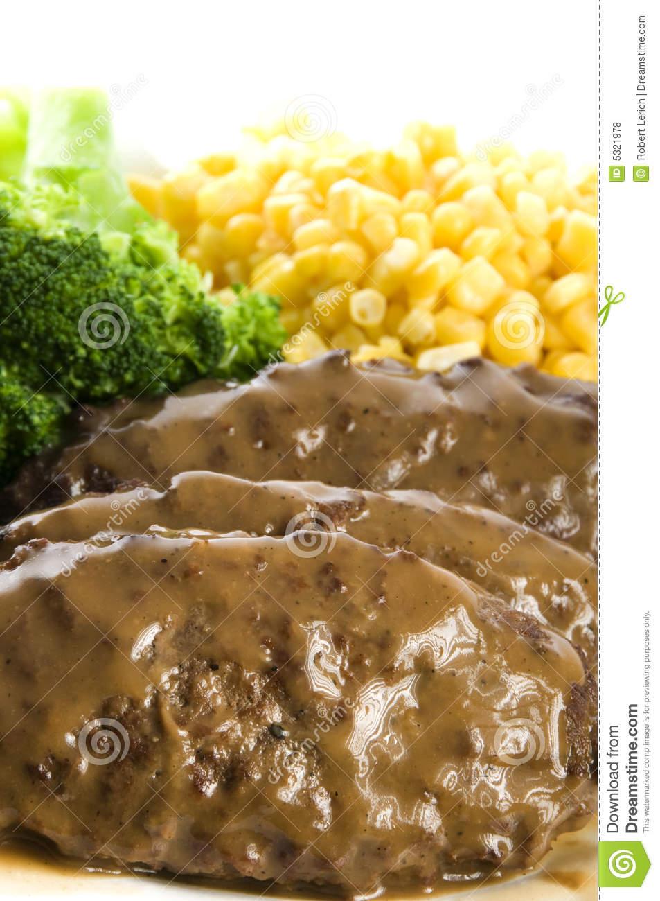 Salisbury steak clipart.