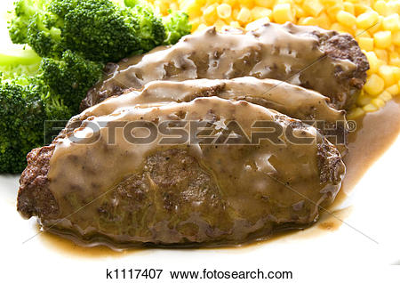 Salisbury steak Stock Photo Images. 134 salisbury steak royalty.