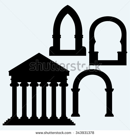 Roman Architecture Stock Photos, Royalty.
