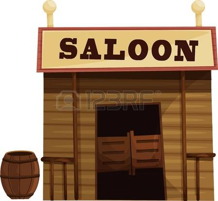 7,425 Saloon Cliparts, Stock Vector And Royalty Free Saloon.