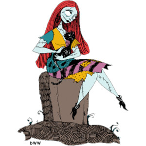 Nightmare before christmas jack and sally clipart.