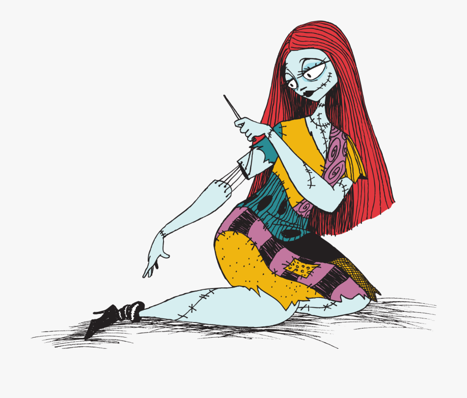 Sally From Nightmare Before Christmas Clipart , Transparent.