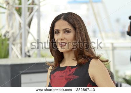 Cannes France May 23 Salma Hayek Stock Photo 54227743.