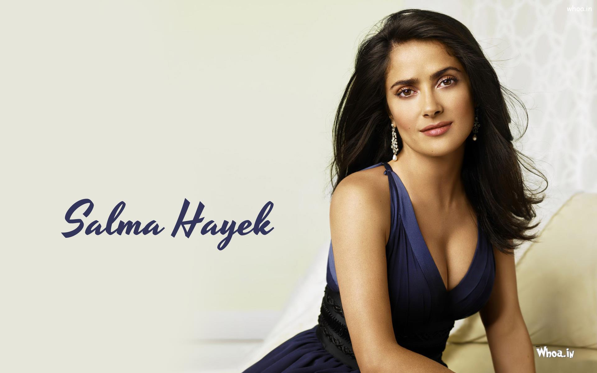 Salma Hayek Hollywood Actress Hot And Sexy Images And Pictures.