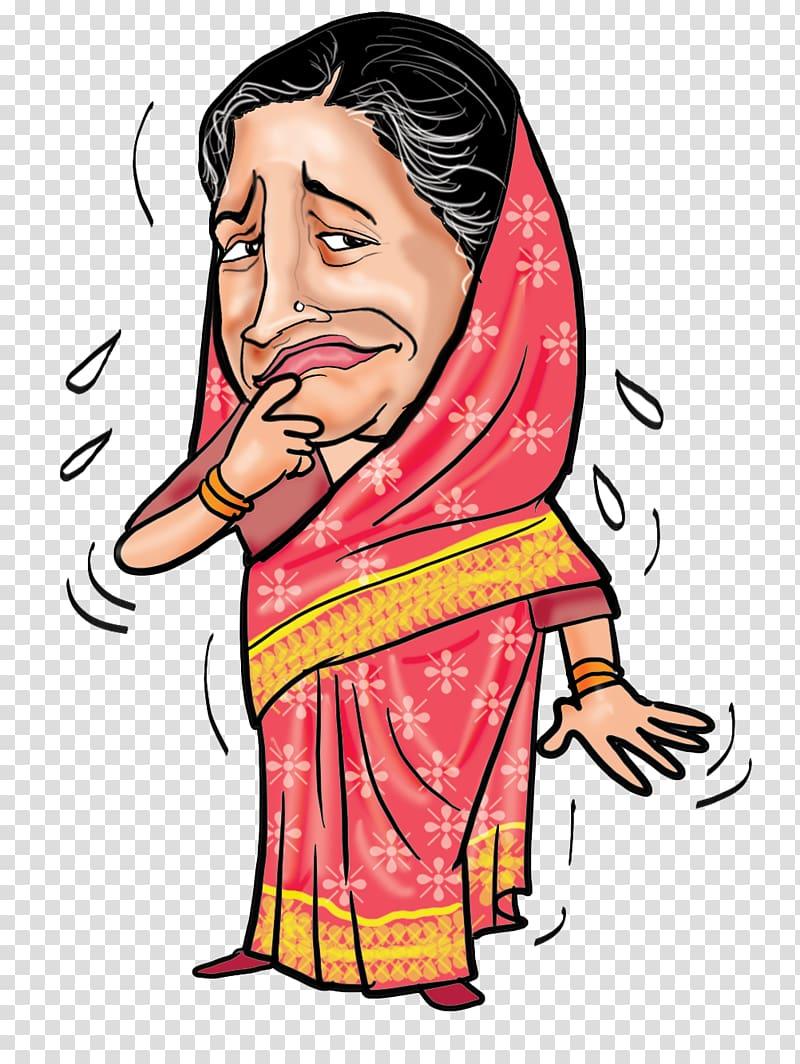 Cartoon Savitri Jindal Caricature, salman khan transparent.