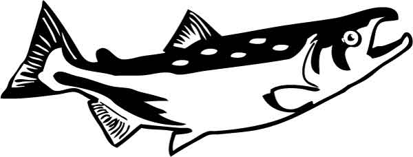 Salmon clipart free images 3.