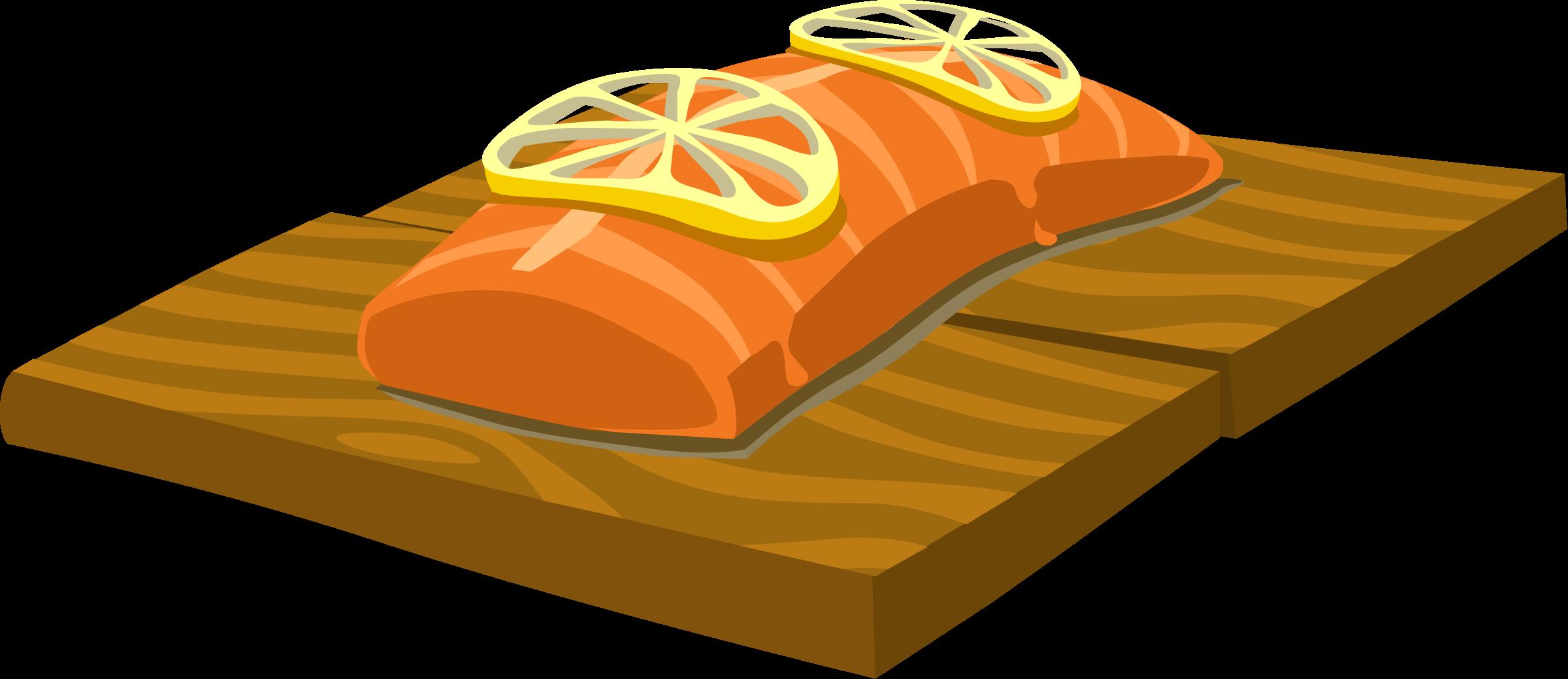 Salmon Clipart.