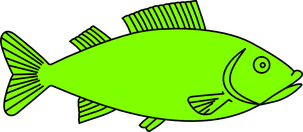 Salmon Fish Clip Art.
