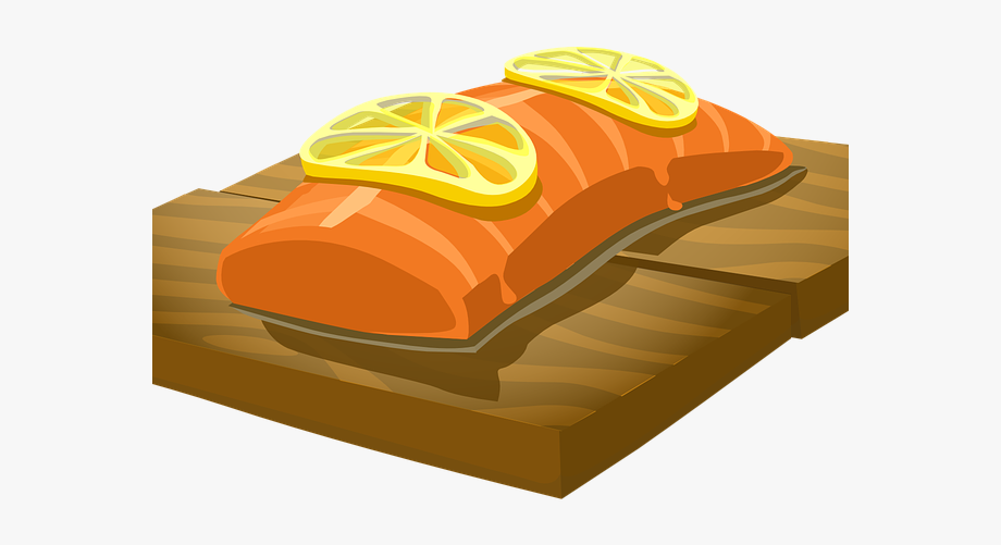 Cooked Salmon Clipart #2289101.