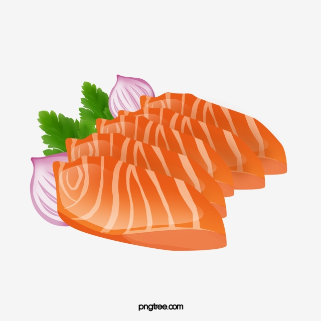 Fresh Salmon PNG Images.