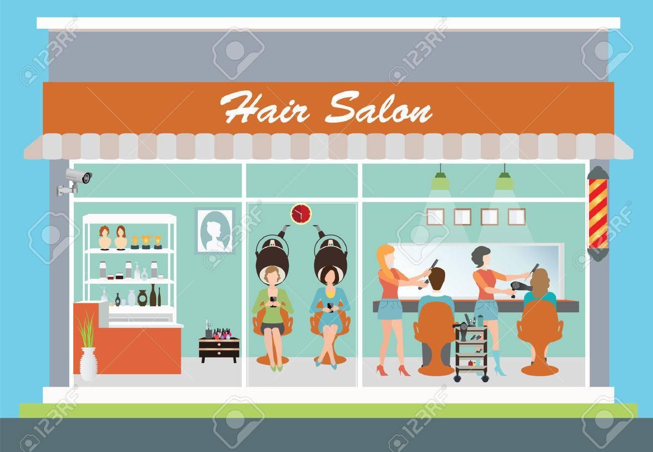 Salon building clipart 2 » Clipart Portal.