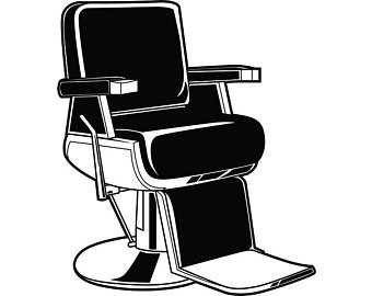 Hairdresser clipart salon chair, Hairdresser salon chair.