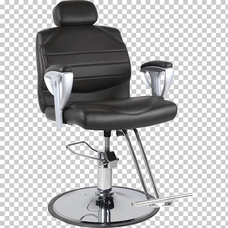 Barber chair Bergère Furniture, salon chair PNG clipart.
