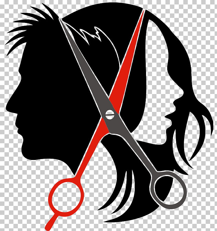Logo Hairstyle Beauty Parlour , hairdresser, silhouette of.