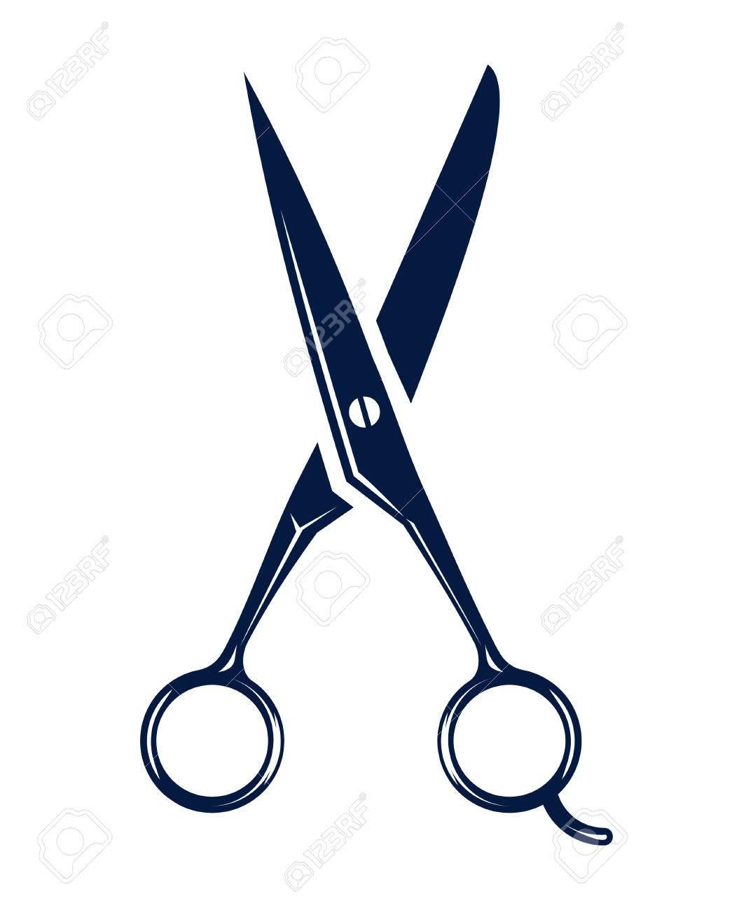 Salon scissors clipart 3 » Clipart Station.