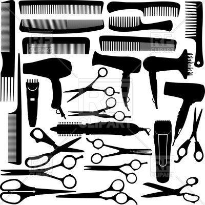 Barber (hairdressing) salon equipment.
