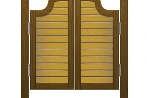 Saloon doors clipart 4 » Clipart Station.