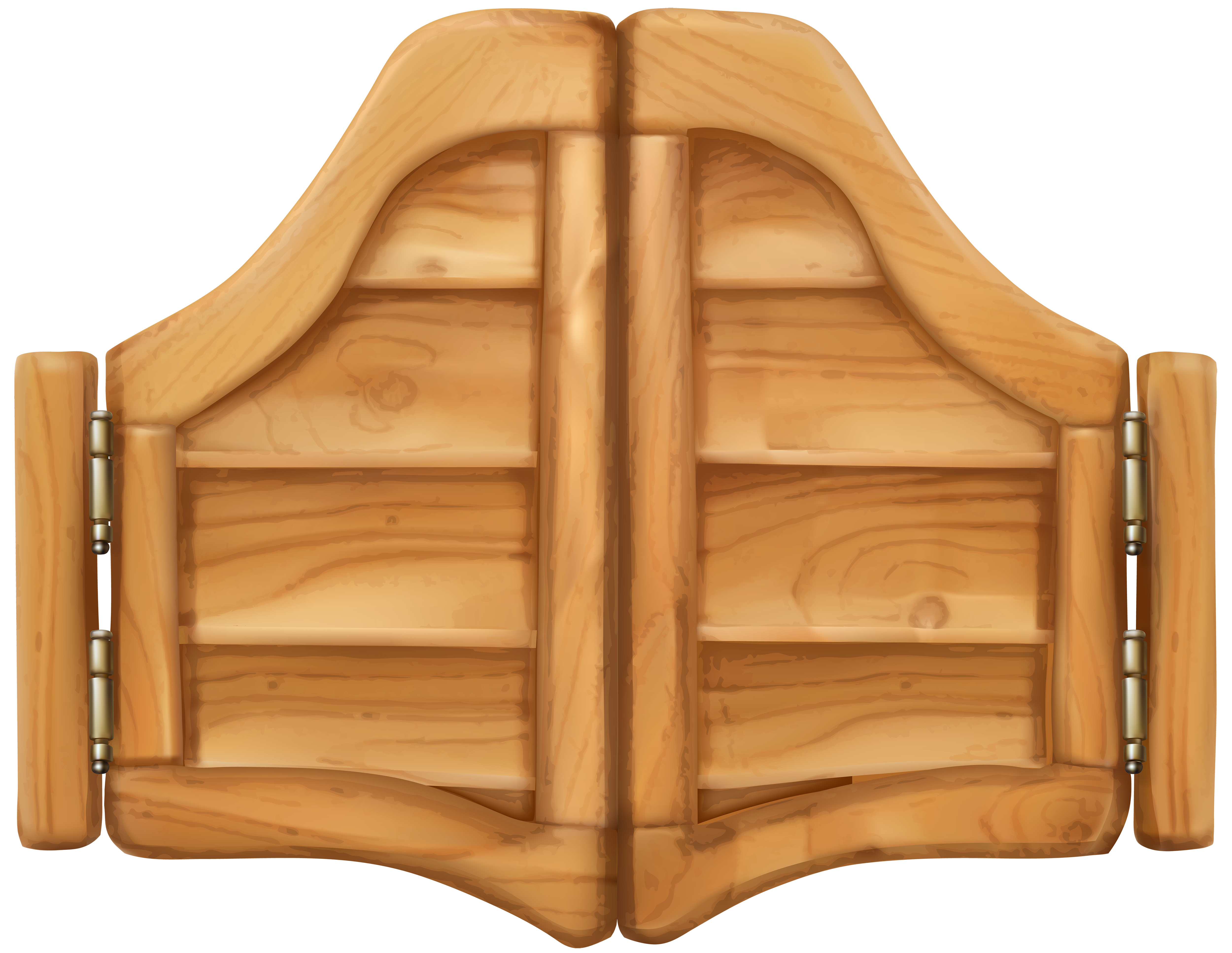 Western Saloon Door PNG Clip Art.
