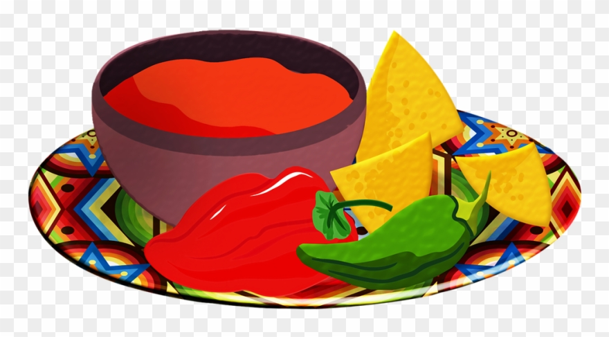 Salsa, Chips, Tomatoes, Red Chili, Tortilla Chips.