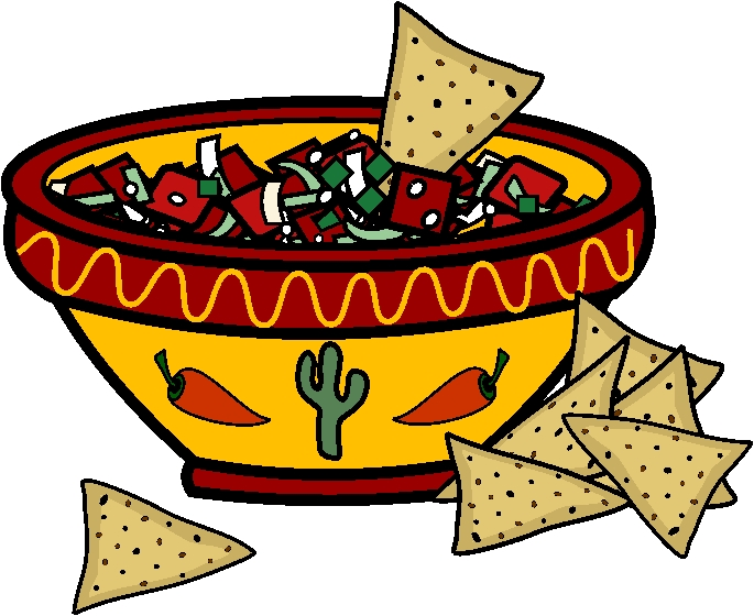 Chips And Salsa Clipart.