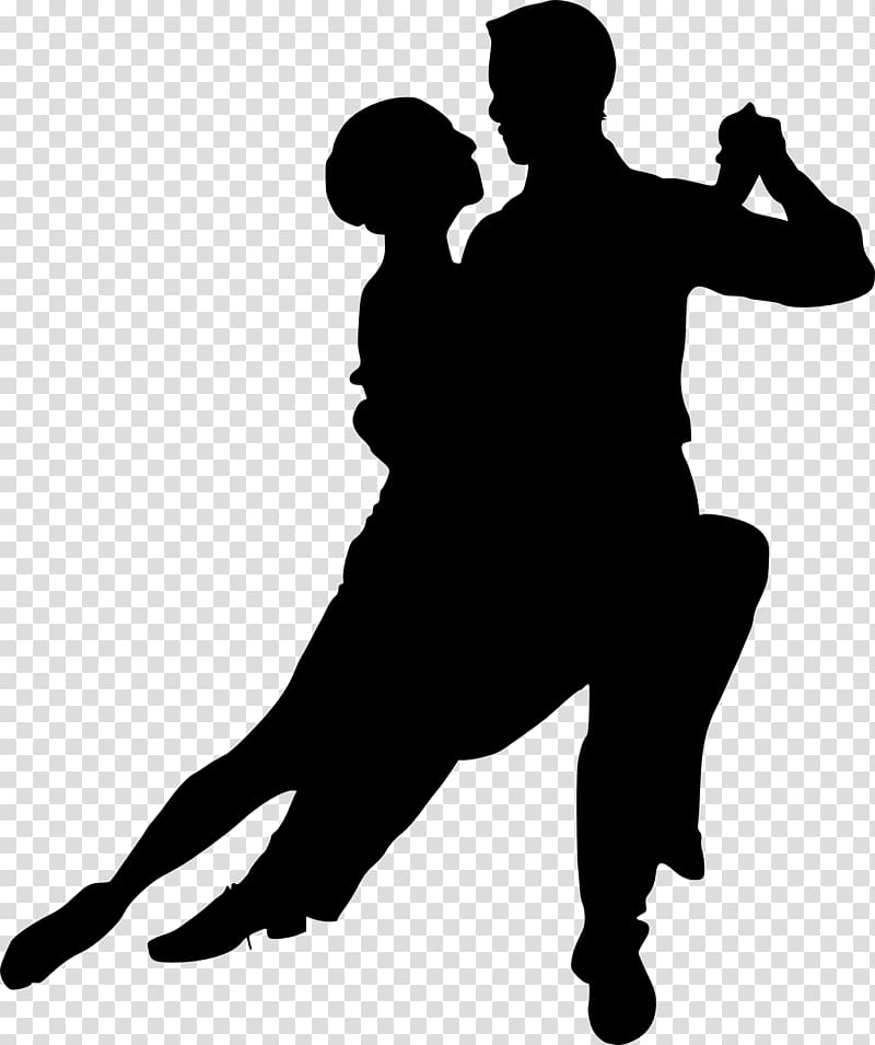 Ballroom dance Silhouette Latin dance Salsa, couple.