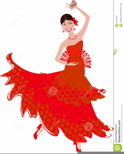 Salsa Dancer Clipart Free.