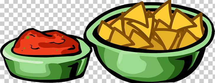 Salsa Chips And Dip Nachos Mexican Cuisine Club Penguin PNG.