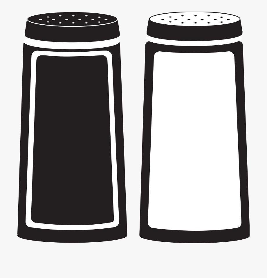 Salt And Pepper Shakers Clipart , Transparent Cartoon, Free.