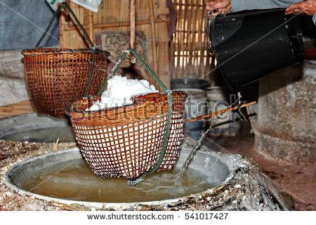 Salt Village Stock Photos, Royalty.