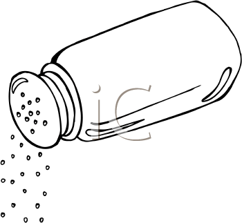 Salt Clip Art.
