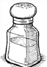 Free Salt Clipart.
