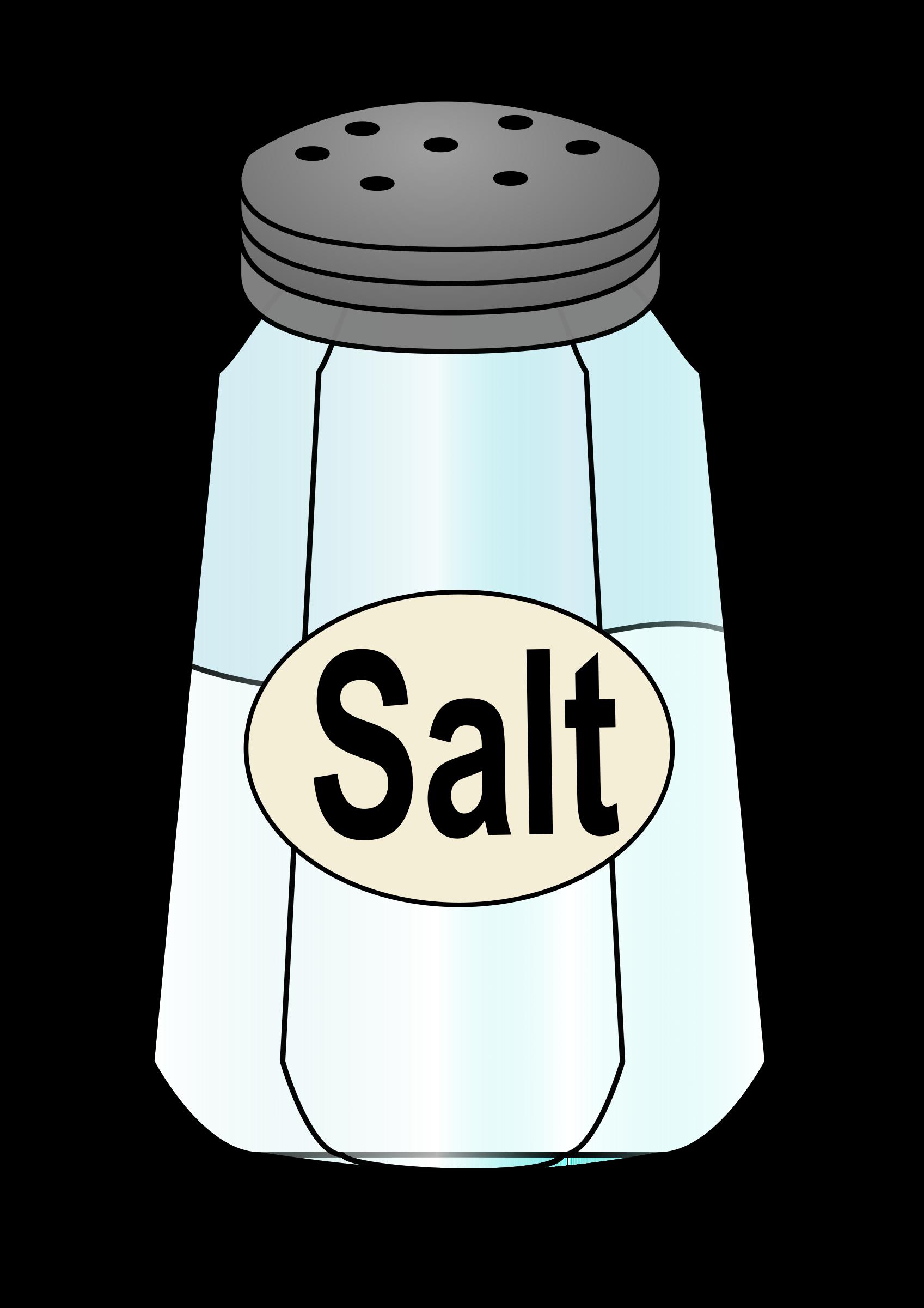 Salt shaker clipart.