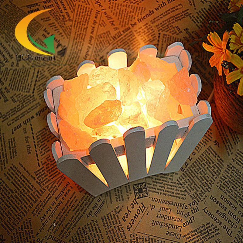 Popular Himalayan Salt Crystal Lamp.