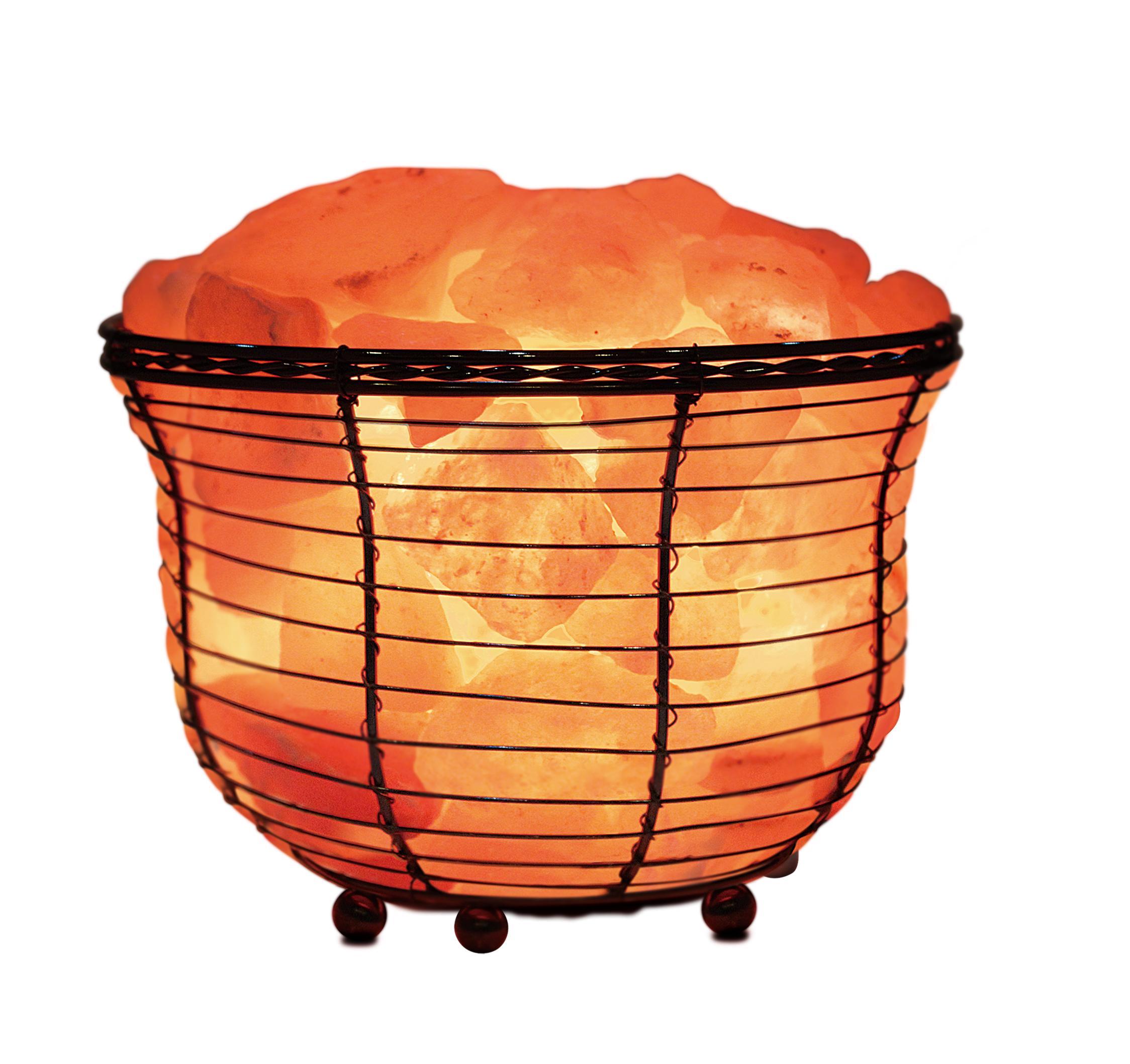 Amazon.com: WBM Natural Air Purifying Himalayan Salt Lamp with.