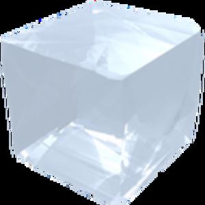 Salt Crystal Icon.