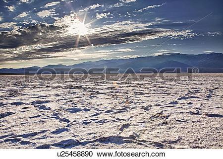Stock Photography of USA, California, Death Valley, barren.