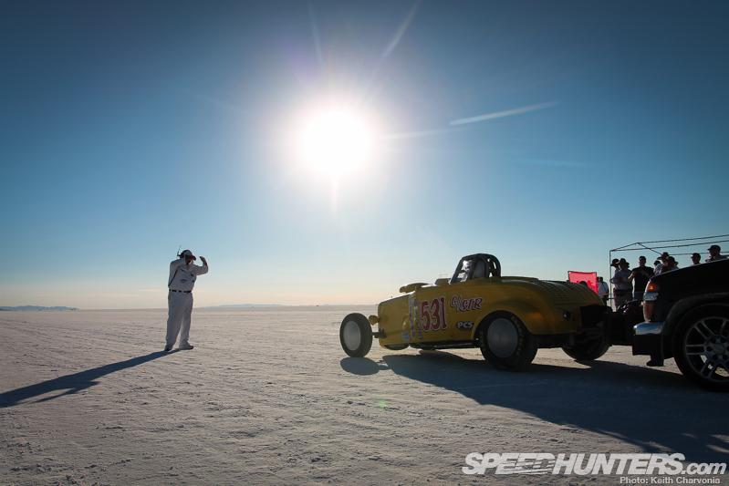 Temple Of Speed: The Bonneville Salt Flats.