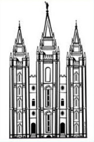 Free Salt Lake Temple Clipart.