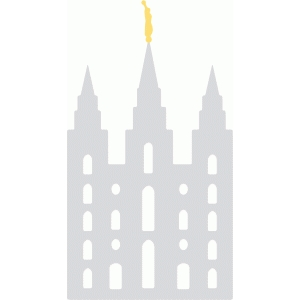 2746 Temple free clipart.