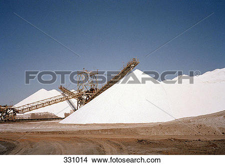Stock Photo of Salt mine 331014.