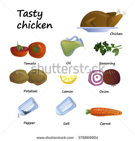 Salt potatoes clipart #14